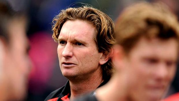 "Essendon coach James Hird: ""We just want the truth."""