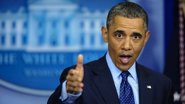 Failed to reach an agreement with the Republicans on budget cuts ... Barack Obama.