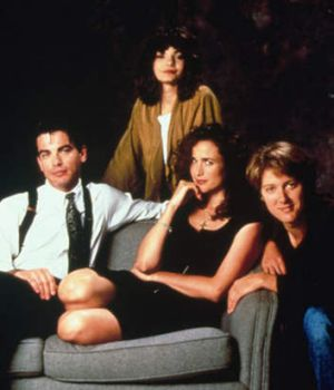 Cast members from the film <i>Sex, Lies and Videotape</i>.