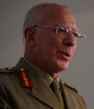 Offering condolences to the boy's family: Australian Defence Force chief David Hurley.