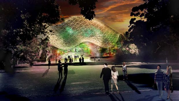 Attraction: The Biome is expected to attract 70,000 visitors to the park every year.
