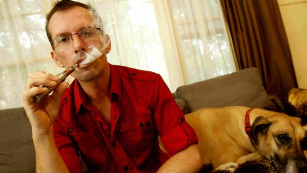 """Don't get asthma anymore ... no more smoker's cough"" ... Daniel Lucas, 42, from Sydney."