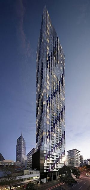 One developer who attended a dinner with Matthew Guy is responsible for the controversial 450 Elizabeth Street proposal.