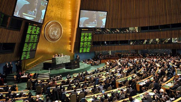 Dry times: there are calls for the United Nations General Assembly to be an alcohol-free zone.