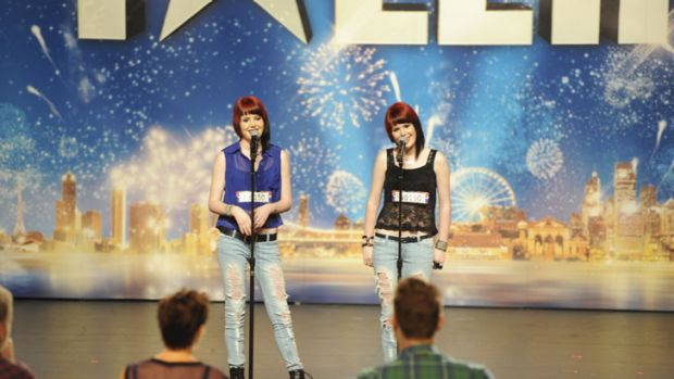 Singing sisters Brittany and Courtney Menegon, more commonly known as Phuzion, impressed the judges on Australia's Got ...