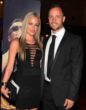 """""""Her old boyfriend was much more like her, a quiet guy, family oriented"""" ... Reeva Steenkamp and Oscar Pistorius in ..."""