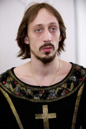 Pavel Dmitrichenko, pictured after a dress rehearsal of Ivan the Terrible at the Bolshoi last year.