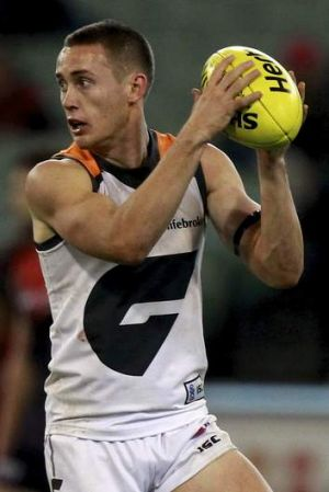 GWS star Tom Scully.