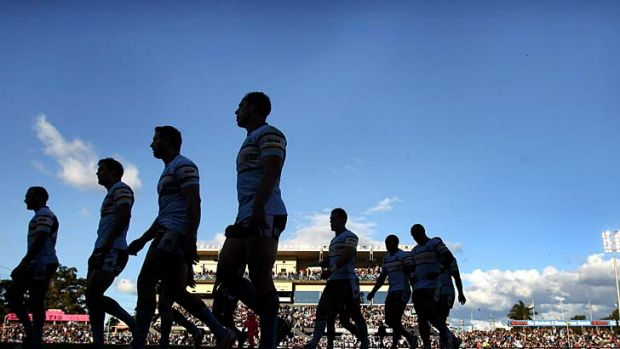 Nervous wait: The Cronulla club is under investigation for alleged drug use.