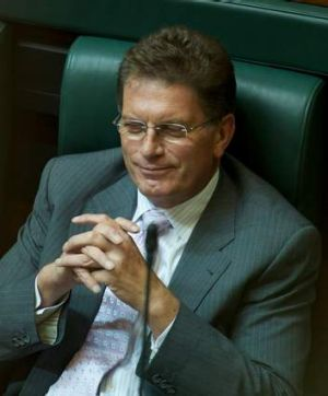Former Premier Ted Baillieu has moved to the back bench.
