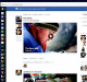 Redesign: The new Facebook newsfeed.