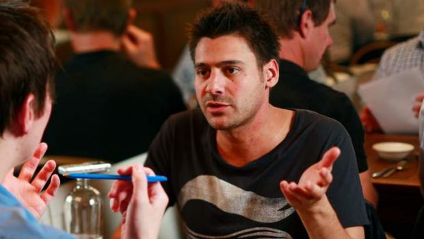 Odd cocktail: Danny Bhoy's Indian appearance and Scottish accent sometimes baffles.
