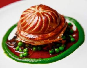 Mainstay: The European's confit duck pie.