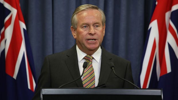 Colin Barnett has refused to discuss cabinet's role in the Muja power station cost blowout.