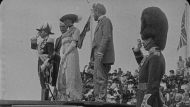 Historic still images from the National Film and Sound Archive taken from rare video of the naming of Canberra in 1913.