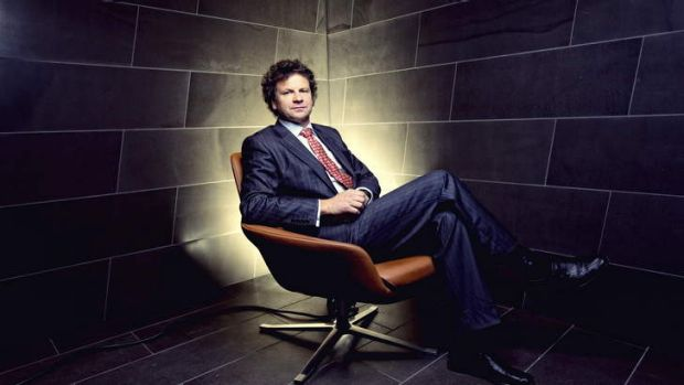 Super job: Simon McKeon says '[AMP] has been one of the most fabulous restorations of iconic status'.