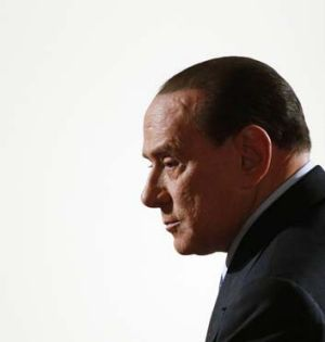''Witch-hunt'': Silvio Berlusconi.