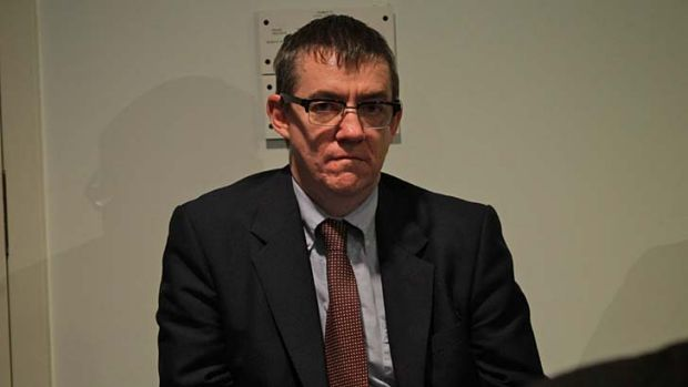 The Government's chief spin doctor and owner of a 457 visa: John McTernan.