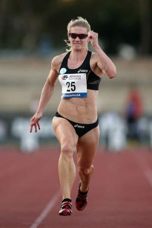 Melissa Breen ran a world championships A-qualifying time on Saturday night.