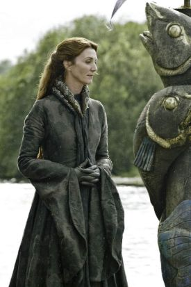 Michelle Fairley as Cat Stark.