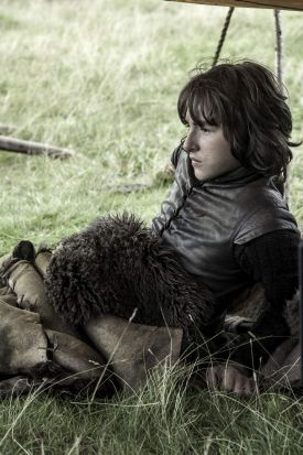 Isaac Hempstead-Wright as Bran Stark.