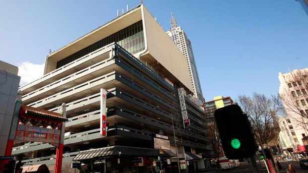 Total car park, located at 170-190 Russell St.