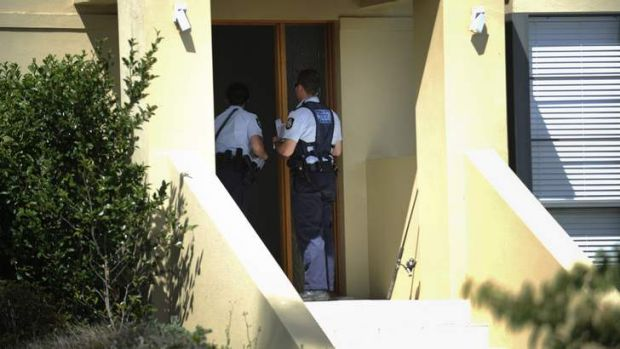 Police attending a home on Hendry Close, Nichols.