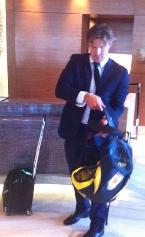 Shane Watson all set to leave the tour of India.