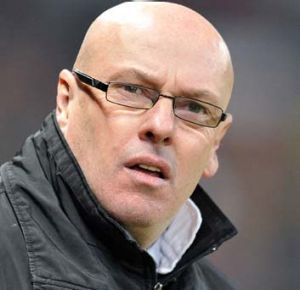 Marching orders: Brian McDermott.
