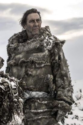 Ciaran Hinds as Mance Rayder.