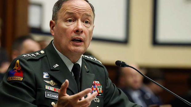 """Defend-the-nation"" teams: General Keith Alexander, US Cyber Command."