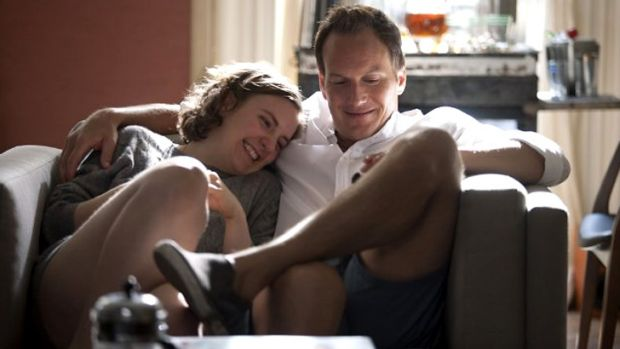 Nice escape ... The pairing of Lena Dunham and Patrick Wilson was a highlight.