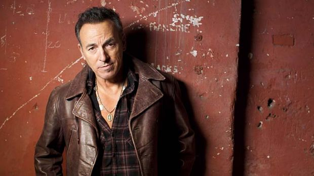 Everything rock should be ... Bruce Springsteen.