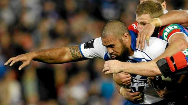 Out with a leg injury: Frank Pritchard.