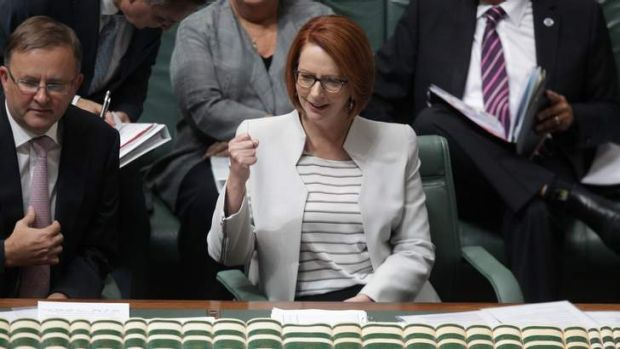 Prime Minister Julia Gillard plays by her rules, but her own speech freedom was drowned out by opposition yahooing.