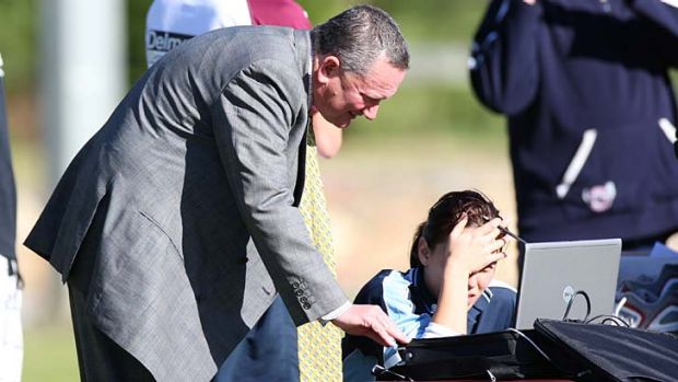 Fallout: Stephen Dank at Manly training.