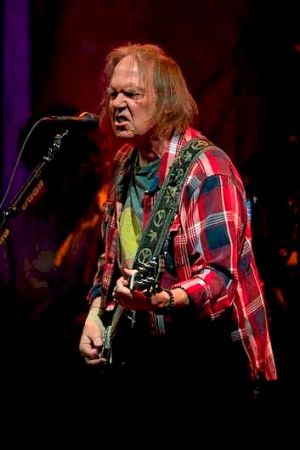 Neil Young performs in Melbourne.