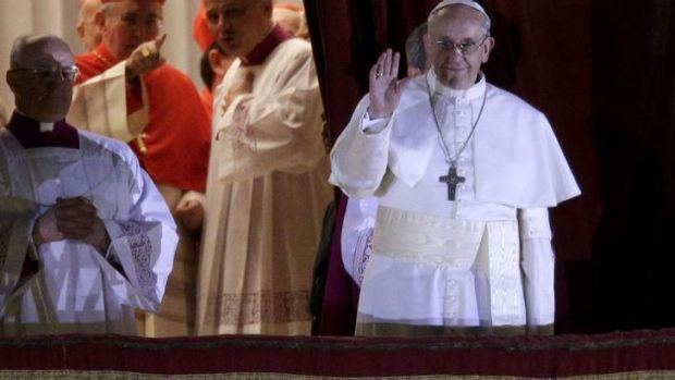 Humble: Pope Francis.