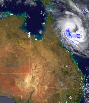 Cyclone Tim forms off the Queensland coast.