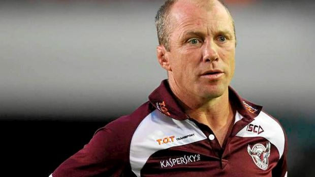 Manly head coach Geoff Toovey.