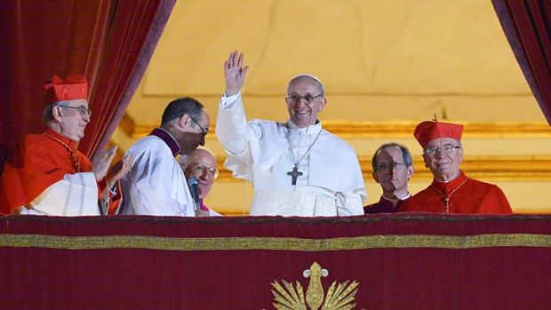 Pope Francis: won't live at the papal palace.