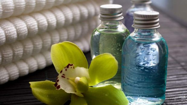 Chemical concoctions: parabens are found in a wide array of personal care products.
