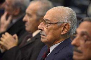 Dictator: Jorge Videla on trial for atrocities by his junta.