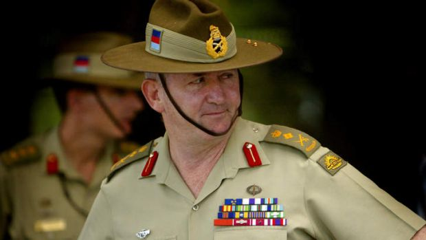 Peter Cosgrove. Former role: Chief of the Australian Defence Force. Now: Director, Qantas.