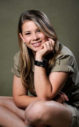 """I want to carry on in my dad's footsteps"": Bindi Irwin."