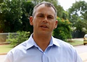 Conservative: Adam Giles argued against an apology to the stolen generations.