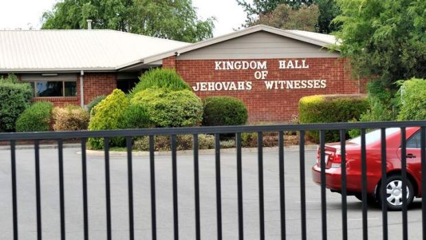 The Jehovah's Witness hall in Traralgon.