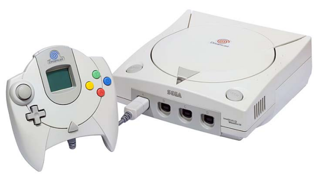 Fallen soldier: The Sega Dreamcast.