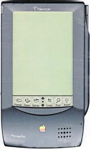 Apple Newton MessagePad.