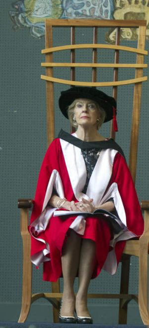 A world of good: Quentin Bryce recognised.
